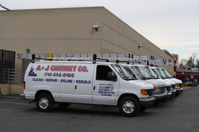 A&J Chimney Vehicles